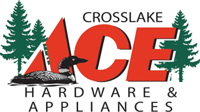 Crosslake Ace Hardware and Appliances Logo